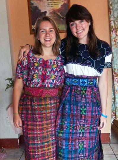 Vestidos de corte de guatemala